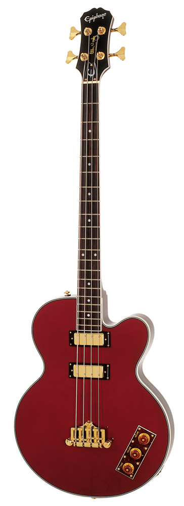 Epiphone Allen Woody Ltd Ed Rumblekat Wine Red