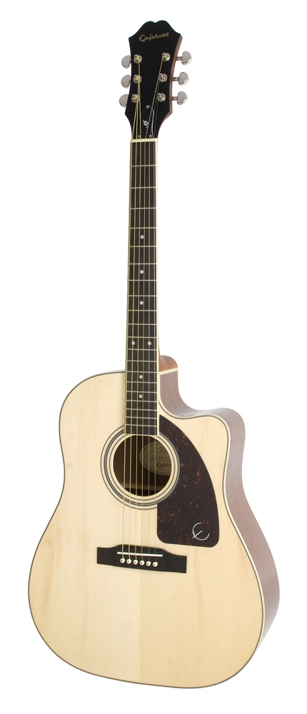 Epiphone Aj 220sce Solid Top Ac/electric Natural