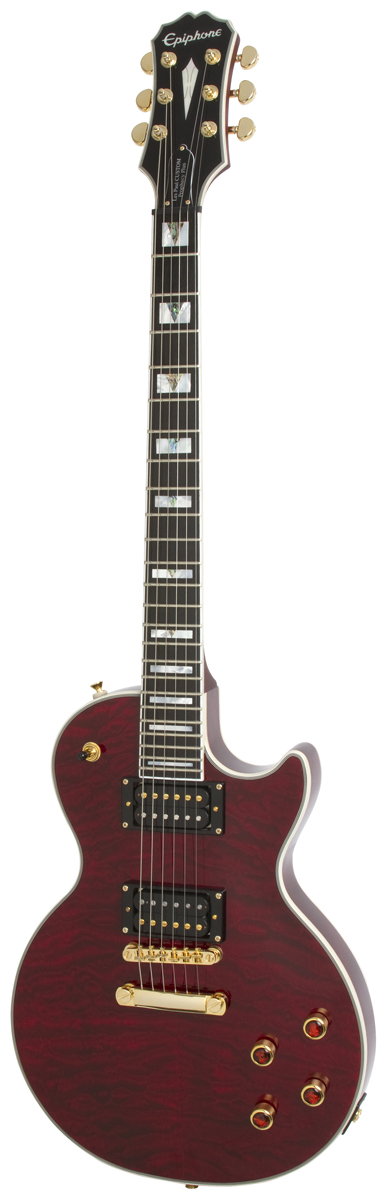 EPIPHONE PROPHECY LES PAUL CUSTOM PLUS GX OUTFIT CHERRY