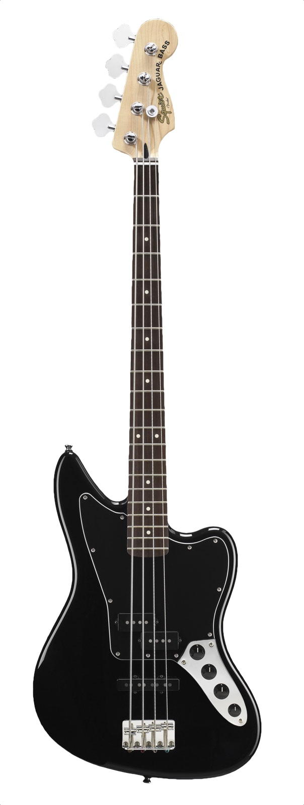 Squier By Fender Jaguar Bass Special Vintage Modified Rn Black
