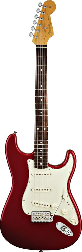 FENDER STRATOCASTER MEXICAN CLASSIC 60S CANDY APPLE RED