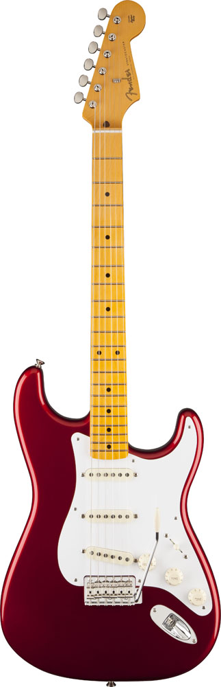 Fender Stratocaster Mexican Classic Series '50s Lacquer Candy Aplle Red + Etui
