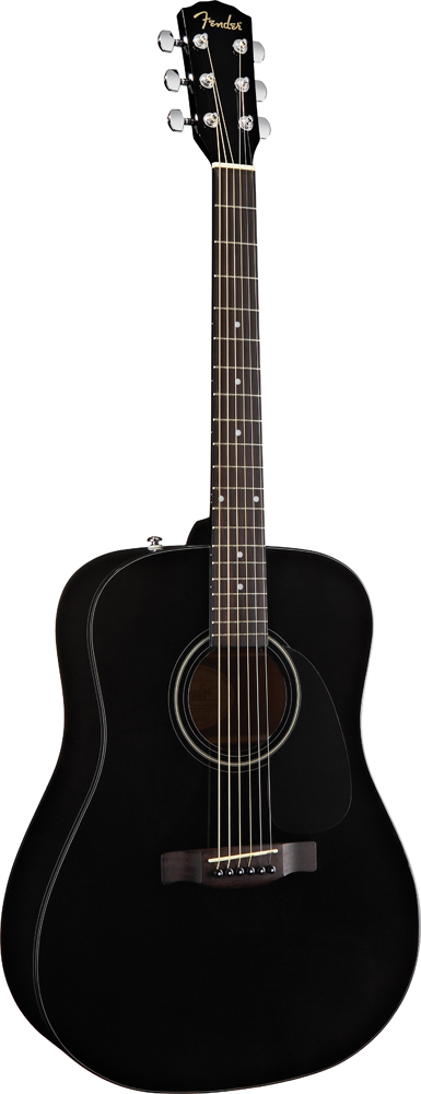 FENDER CD-60 BLACK V2
