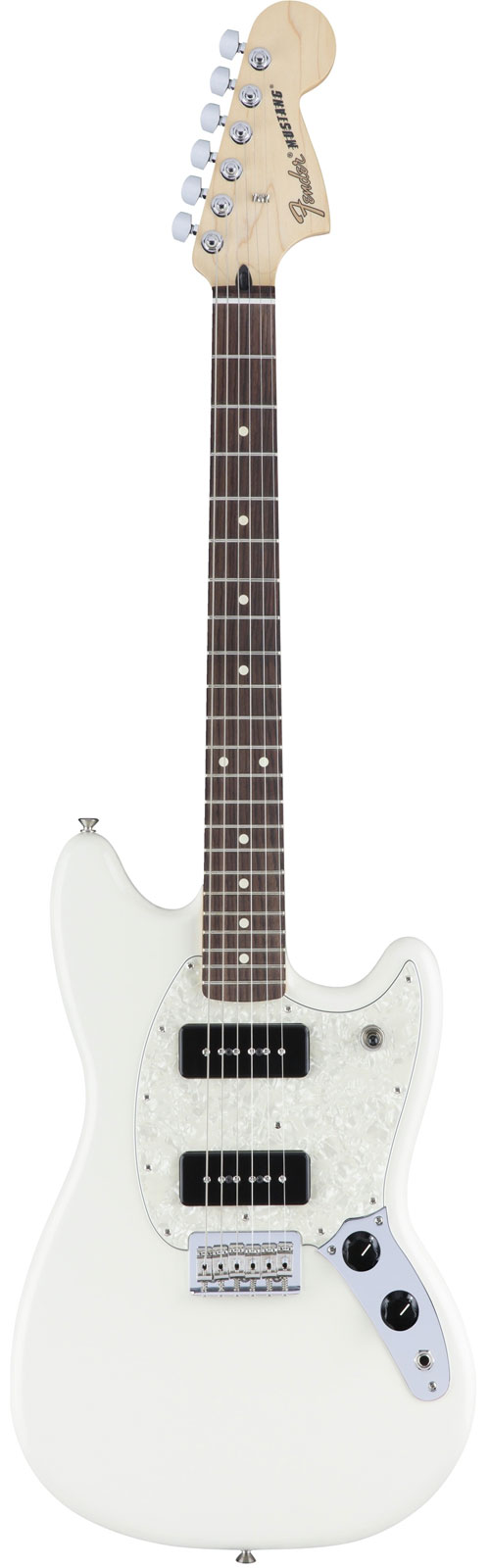 FENDER MUSTANG 90 RW OLYMPIC WHITE