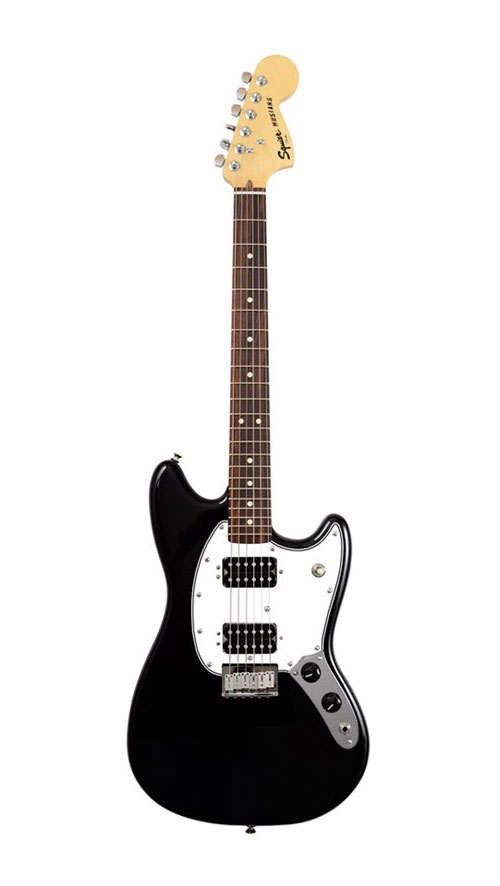 SQUIER BY FENDER BULLET MUSTANG HH RW BLACK