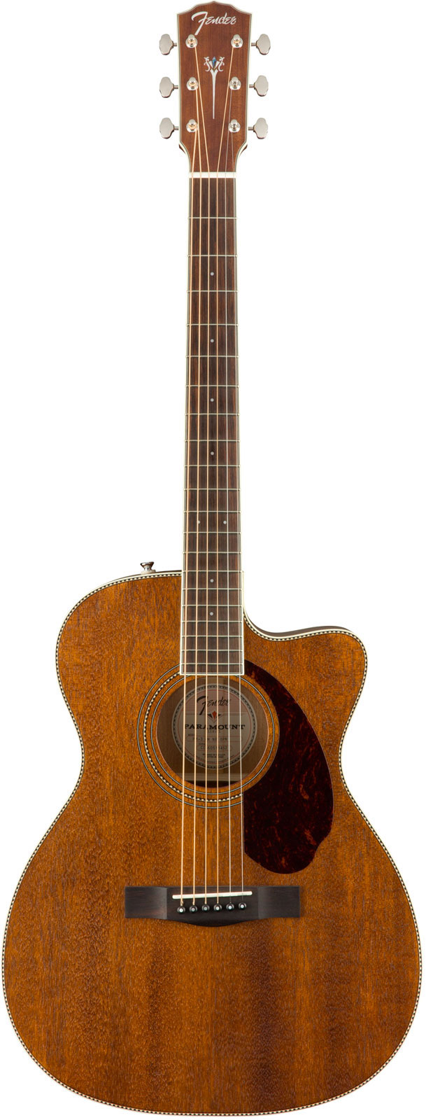 FENDER PARAMOUNT PM-3 TRIPLE-0 CW ALL MAHOGANY NATURAL