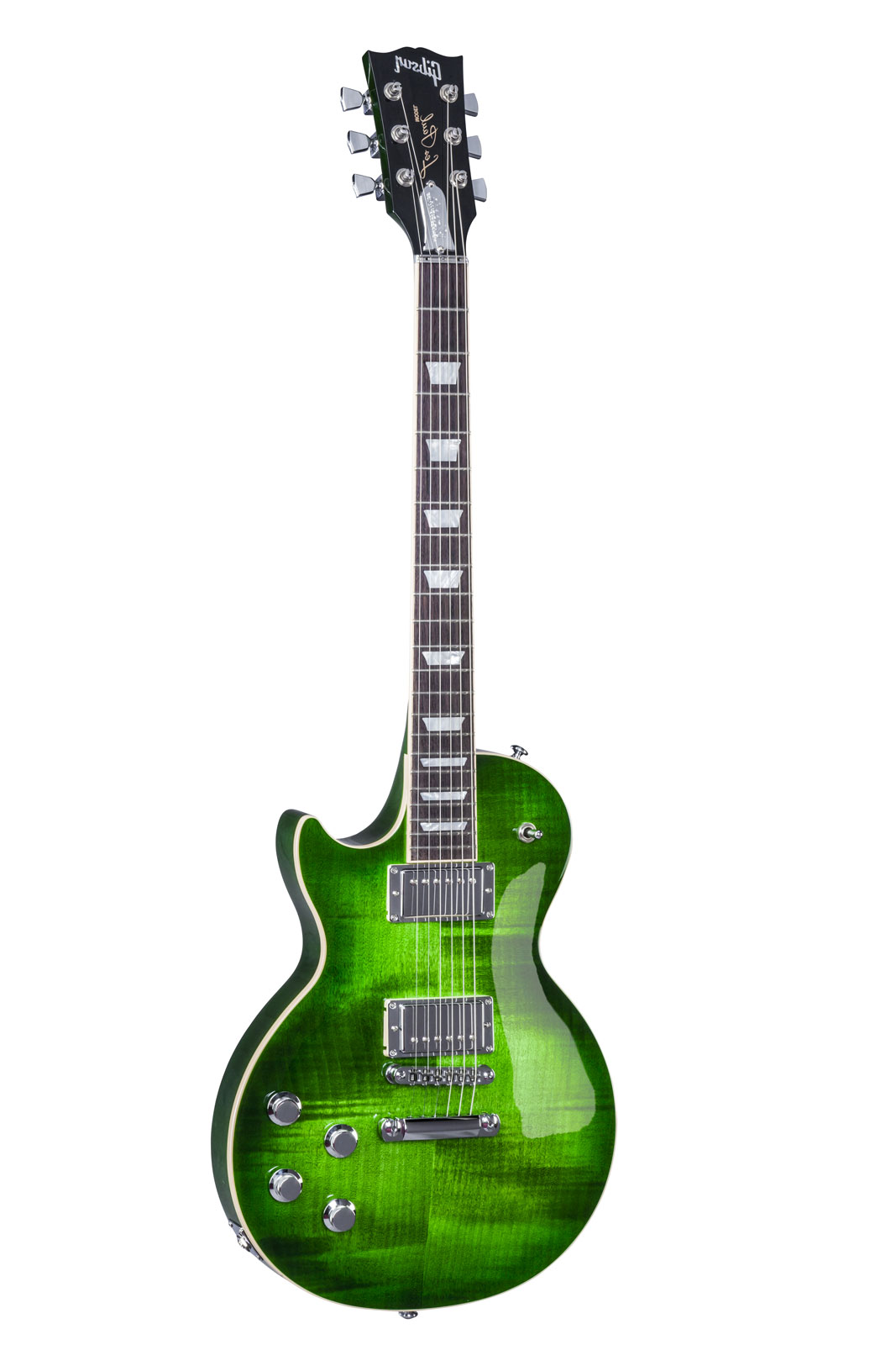 GIBSON GAUCHER LES PAUL HP CLASSIC 2017 GREEN OCEAN BURST