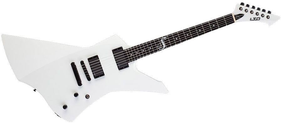 LTD GUITARS SNAKEBYTE SIGNATURE JAMES HETFIELD SNOW WHITE