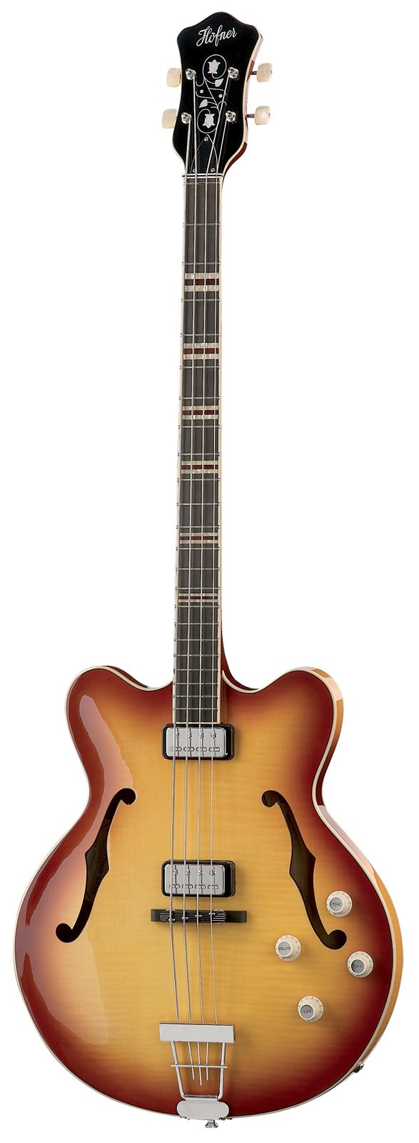 Hofner Hct-500/7-sb Verythin Sunburst