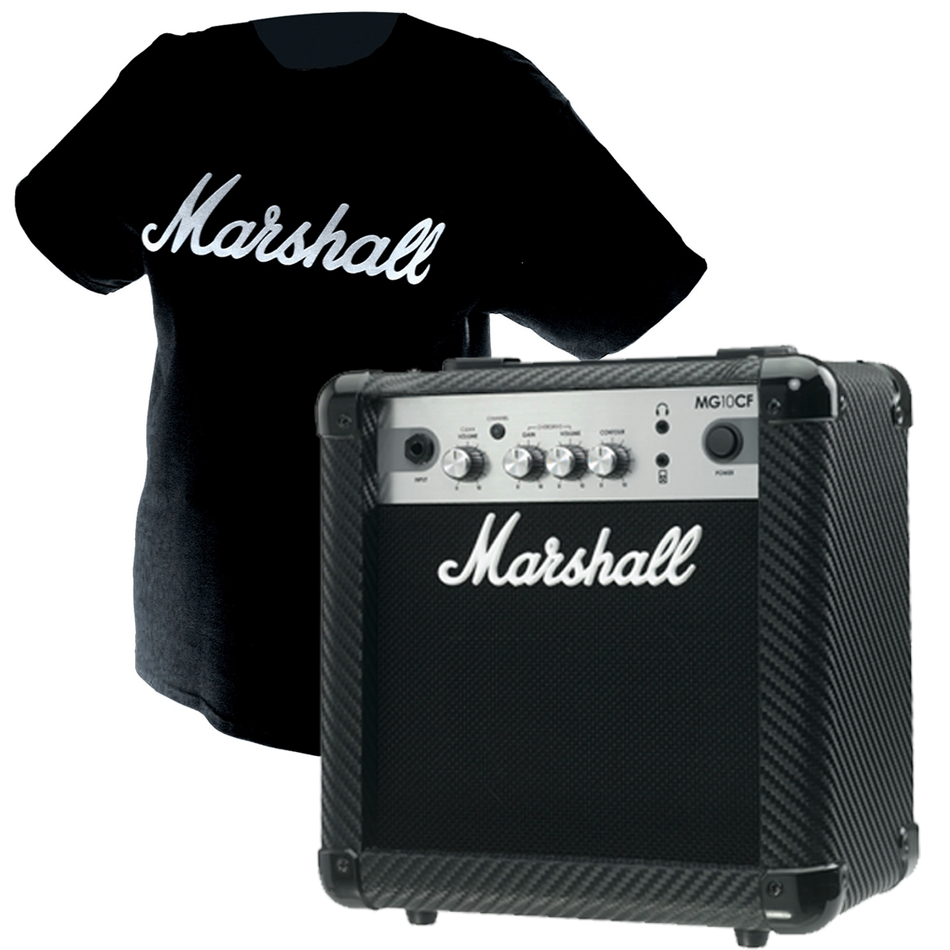 Marshall Mg10cf - Finition Carbone/silver