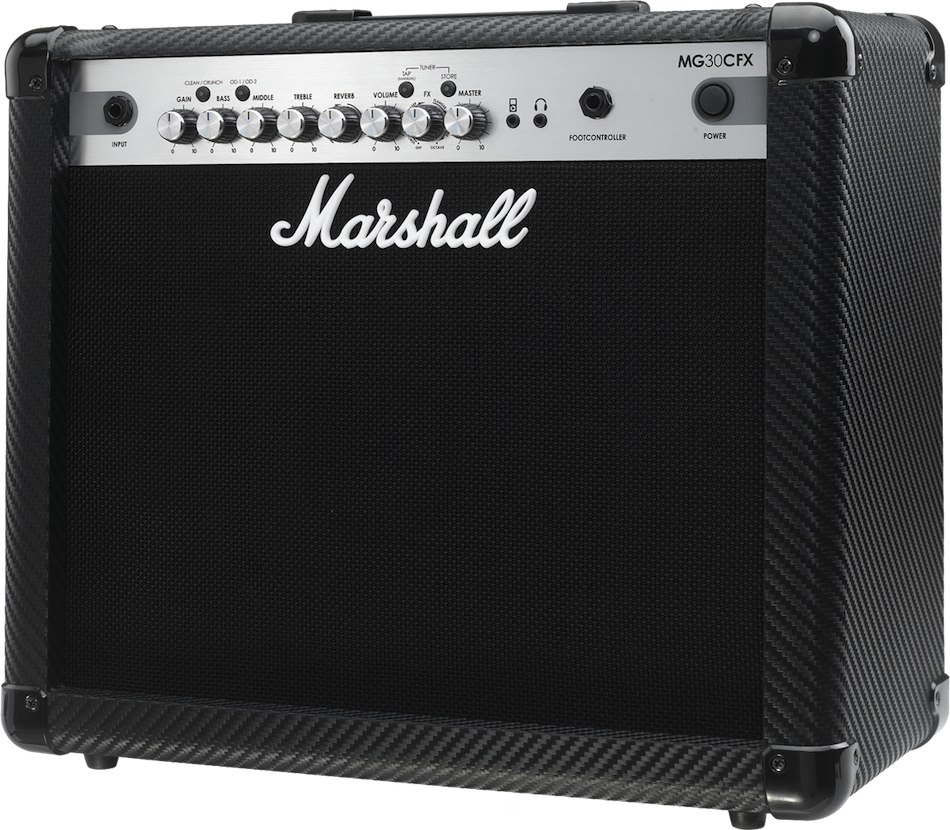 Marshall Mg30cfx - Finition Carbone/silver