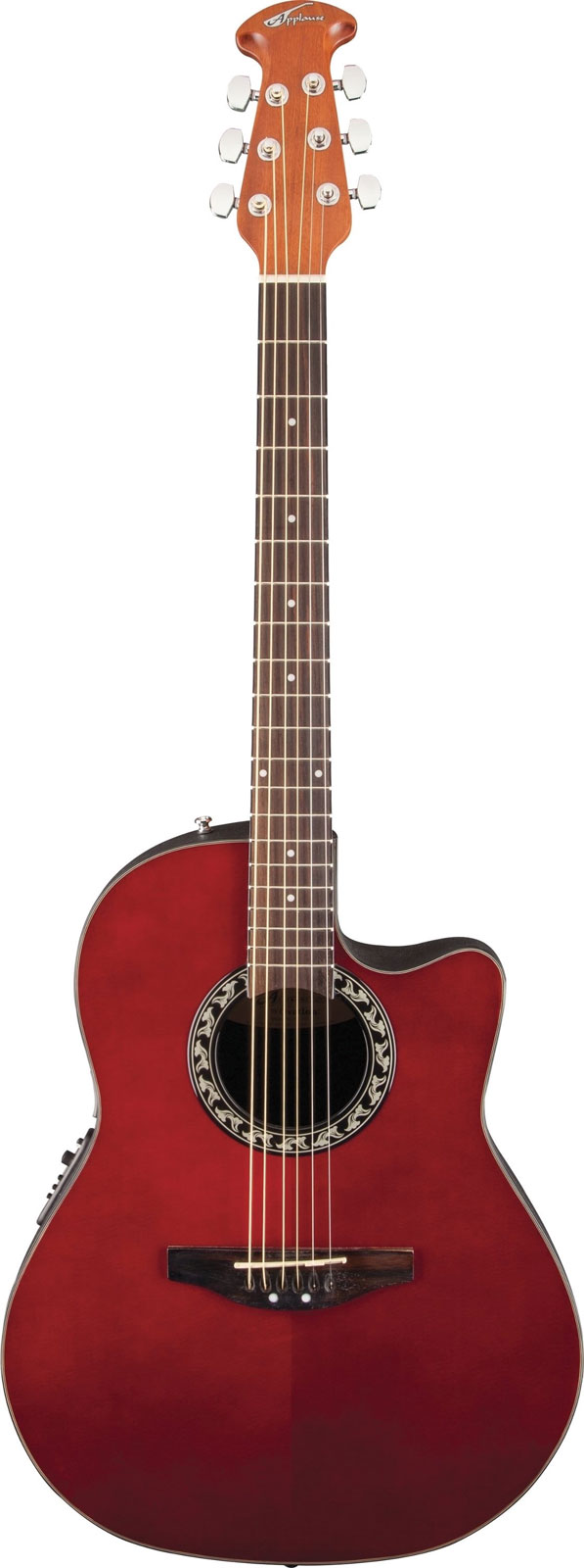 OVATION APPLAUSE BALLADEER AB24RR RUBY RED