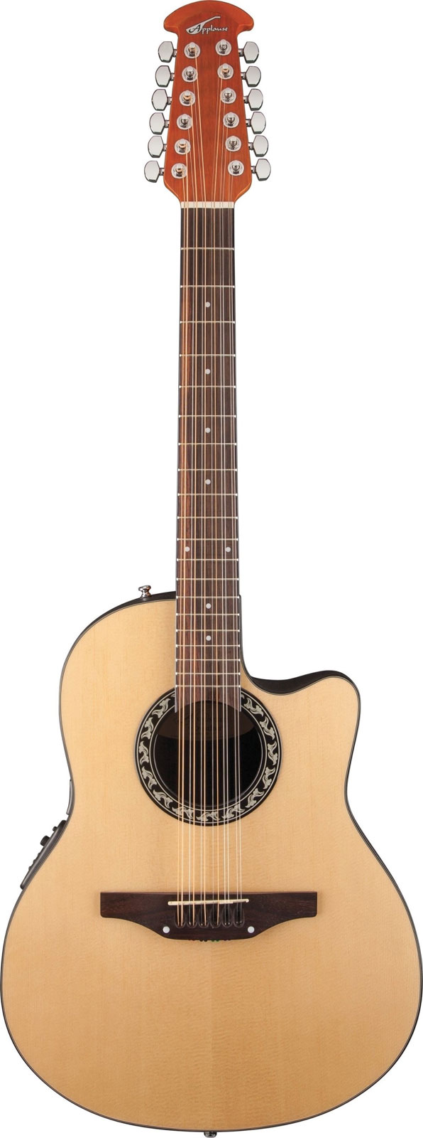 OVATION APPLAUSE BALLADEER 12 STRING AB2412II NATURAL