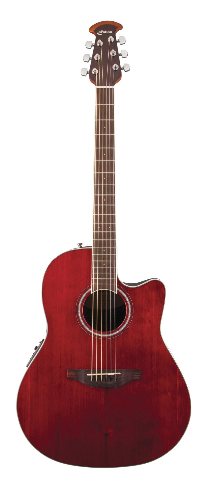 OVATION CELEBRITY STANDARD CS24RR RUBY RED