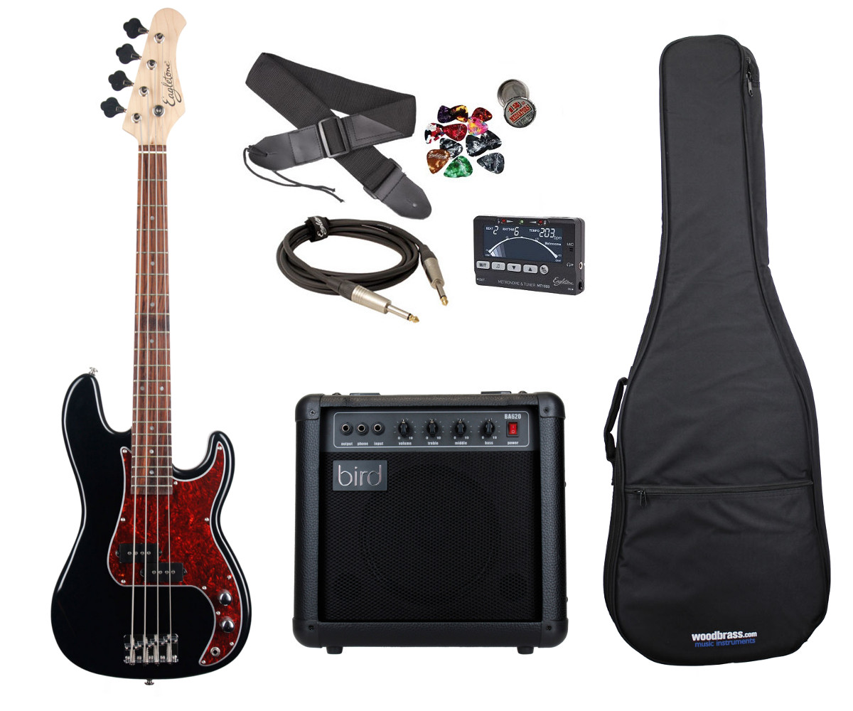EAGLETONE PACK SUN STATE BASS P JUNIOR NOIRE + BA620