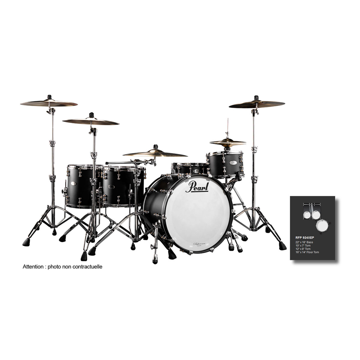 Pearl Rfp924xepc-124 - Reference Pure Hyper Rock 22-10-12-16
