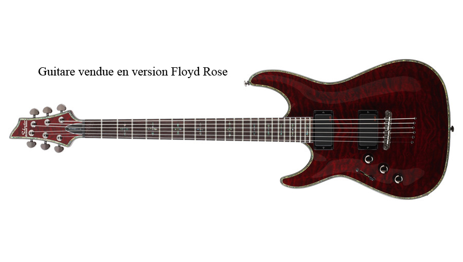 SCHECTER GAUCHER C 1 HELLRAISER BLACK CHERRY
