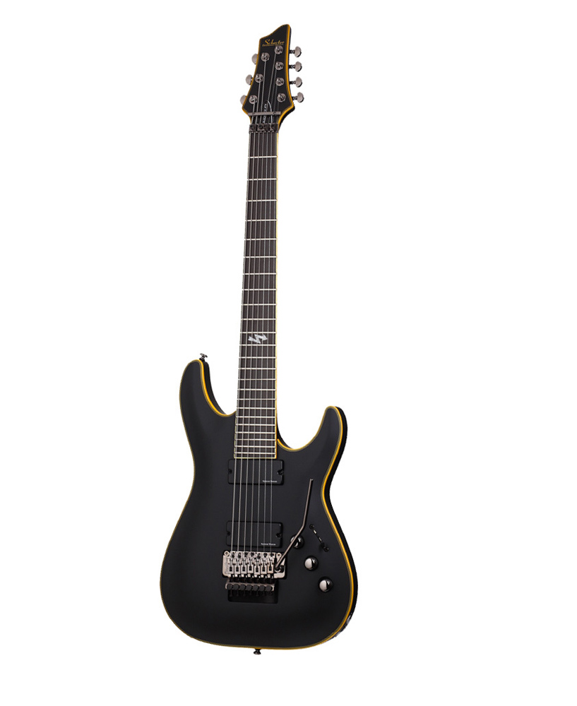 SCHECTER BLACKJACK ATX C 7 FR AGED BLACK SATIN