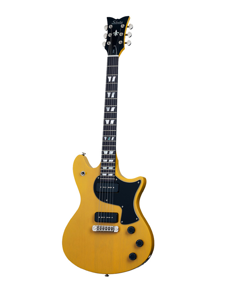 Schecter Tempest Special P 90 Tv Yellow