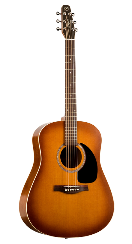 Seagull Entourage Rustic S6 Dreadnought Rustic Burst + Housse