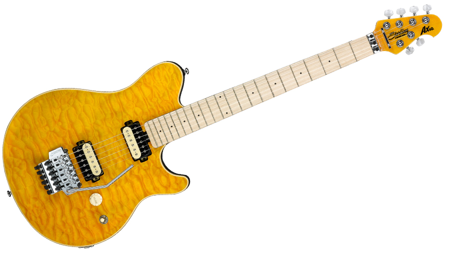Sterling By Music Man Axis Ax40 Trans Gold + Housse